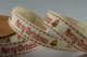 CR Ribbon:  Cream Cotton with Merry Christmas & Owl 15mm